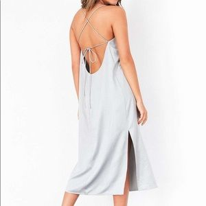 Urban Outfitters Silence + Noise Satin Slip Dress